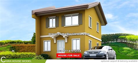 hous com camella sierra metro east cara house and lot for sale in