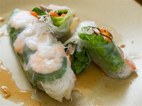 How To Make Rice Paper Recipe - rice paper summer rolls recipes cooking channel recipe