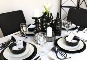 ideas for a black white party celebrations at home