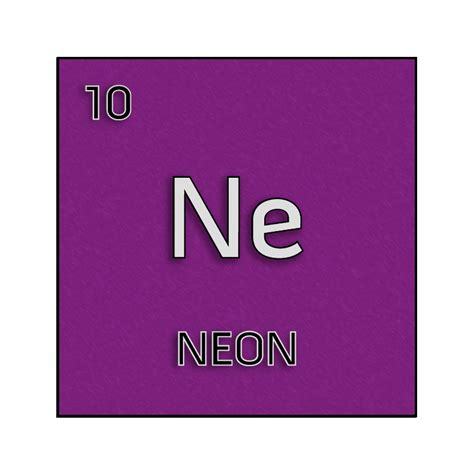 neon colored periodic table www imgkid the image