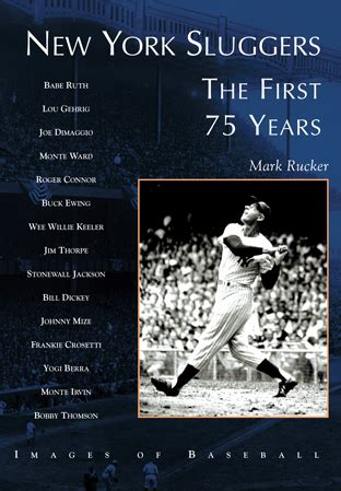 tamayo the new york years books new york sluggers the 75 years by rucker