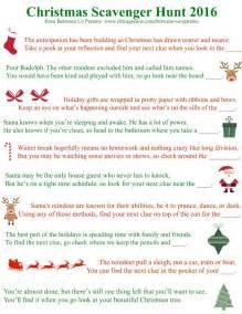 printable christmas riddles for adults printable christmas scavenger hunt clues 2016 edition