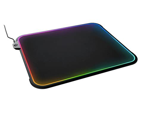 Mousepad Steelseries Qck Prism Rgb do we need rgb mousepads steelseries qck prism says yes slashgear