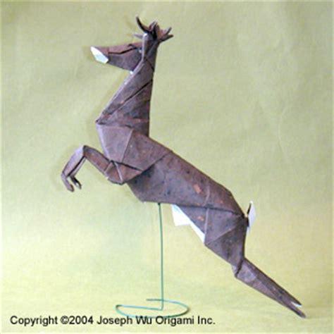 Origami Deer Diagram - joseph wu s origami page