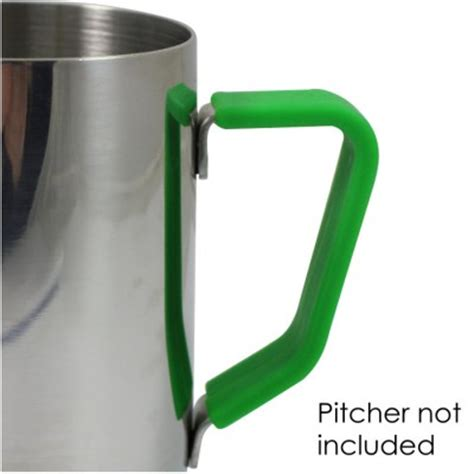 Handle Green Coffee silicone pitcher handle grip green 12oz