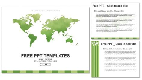 vector world wide ppt templates ppt backgrounds templates colorful green detailed world map vector powerpoint templates