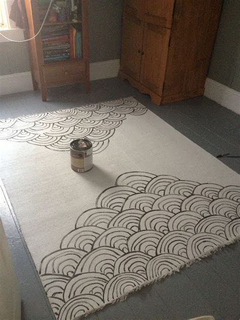 diy painted canvas rug 17 best ideas about paint rug on painting rugs paint a rug and painted porch floors