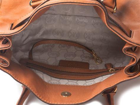 Michael Kors Bag Interior michael kors hamilton e w satchel brown woot