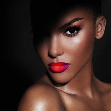 close up of black female models 2014 the east african beauty and cosmetics market