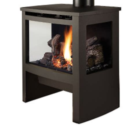 Free Standing Gas Log Fireplace by Lopi Cypress Freestanding Gas Log Fires Heatworks