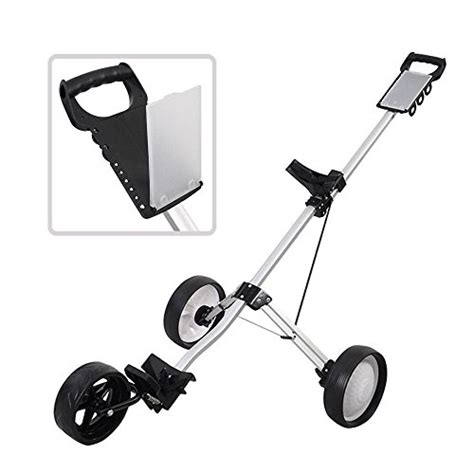 Multifunction Folded Trolley Troli Serbaguna High Quality 1 golf clubs equipment new foldable 3 wheel push pull golf