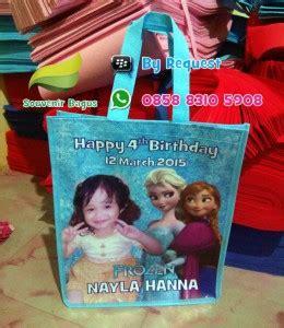 Handuk Frozen A H tas ulang tahun frozen goodie bag murah