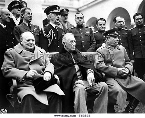 Churchill Quotes Yalta Conference