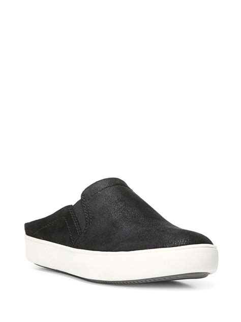 naturalizer sneakers naturalizer manor leather slip on sneakers in black lyst