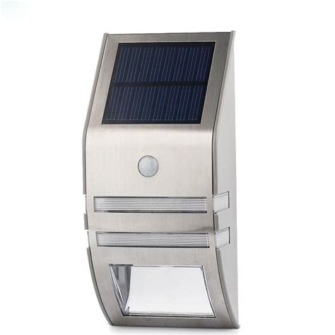 solar led lights outdoor outdoor solar powered led security light meggazone