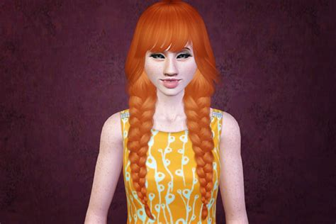 hfs braided hair sims 3 sims 3 hair download braided pigtails a classic my