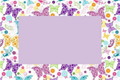 imagenes de invitaciones mariposas invitaciones de mariposas para imprimir gratis ideas y