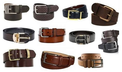 25 different types of leather belts for and