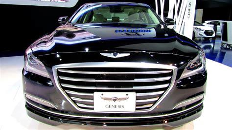 Hyundai Genesis Looks Like Bentley 2015 Hyundai Genesis Exterior And Interior Walkaround