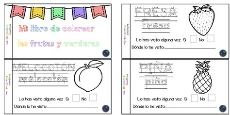 libro mi cuaderno montessori mi cuaderno para colorear frutas y verduras 1 imagenes educativas