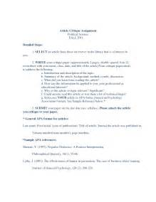 Critique Essay Of An Article by Writing A Book Critique 187 100 Original