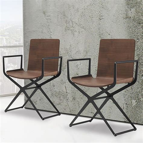 sedie in metallo moderne ciak sedia moderna in metallo seduta in legno