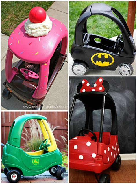 little tike cozy coupe makeovers crafty morning