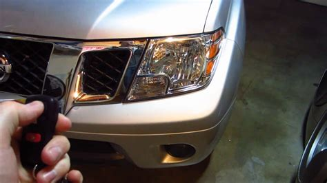 changing the battery in a nissan key fob 2005 2016 nissan frontier testing key fob after changing