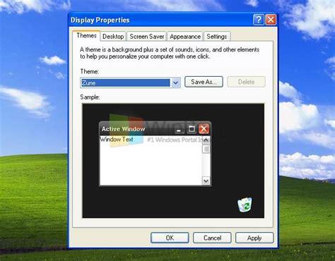 tutorial xp lengkap tutorial lengkap cara mengganti theme windows xp winpoin