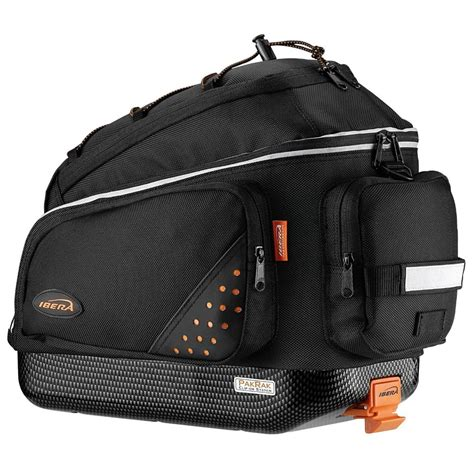 Bicycle Bag ibera bicycle trunk bag rear seat cycling commuter carrier storage new ba1 ebay