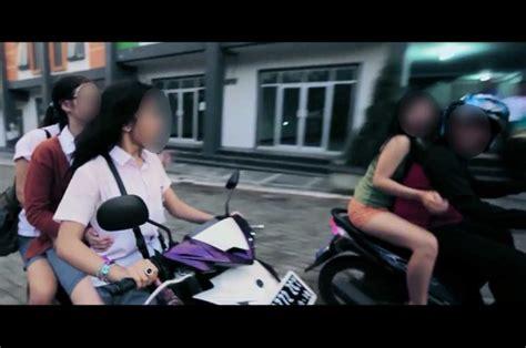 film geng motor sadis calon anggota perempuan geng motor di batam harus