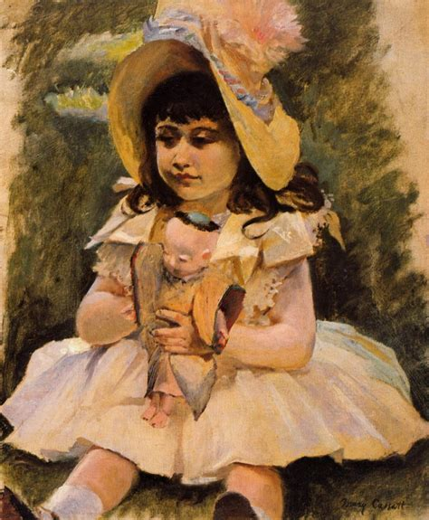 painting doll with a japanese doll 1892 painting