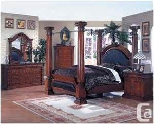 King Size Canopy Bedroom Sets Canada King Size Bed Bedroom Set Hamilton For Sale In