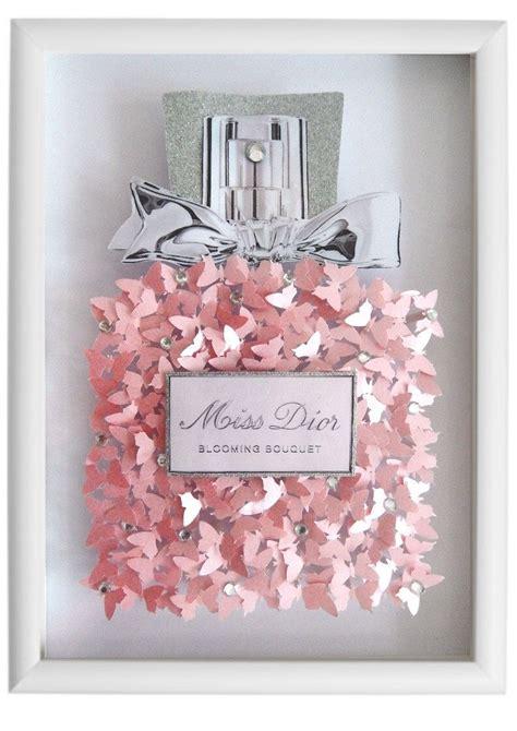 Miss Perfume Bottle miss perfume bottle picture 3d butterflies bespoke