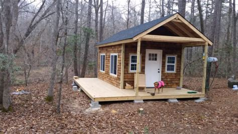 building a house yourself how to build your own tiny cabin