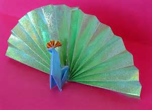 Origami Peacock - origami no 1 cuh yah crafts