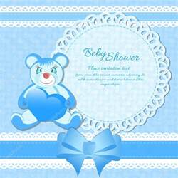 baby shower greeting card for baby boy stock vector 169 osipovdim 27459303