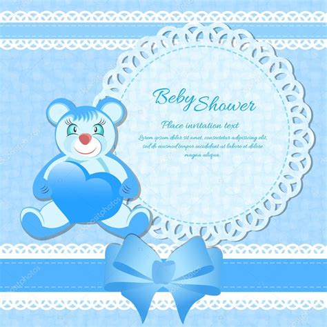 baby shower greetings for a boy baby shower greeting card for baby boy stock vector