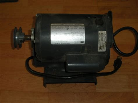 craftsman table saw motor replacement sears craftsman table saw electric motor 1 hp 3 hp max