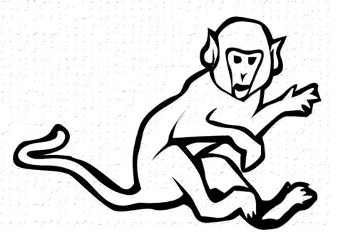 coloring pages of sock monkey print download coloring monkey head with monkey
