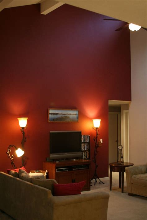 Orange Paint Living Room by 25 Best Ideas About Orange Accent Walls On