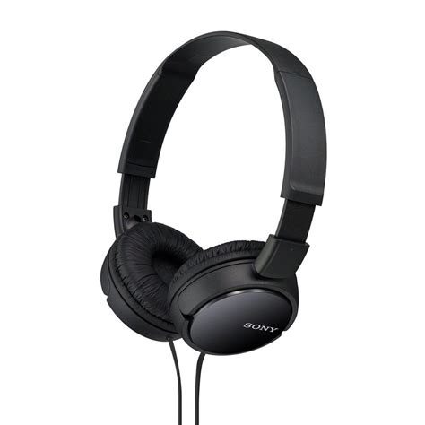 Sony Headphones Mdr Zx110a sony mdr zx110a on ear stereo headphone review