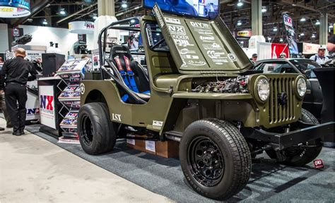 willys jeep lsx top 5 cars from sema 2015 make that the 20 best cars