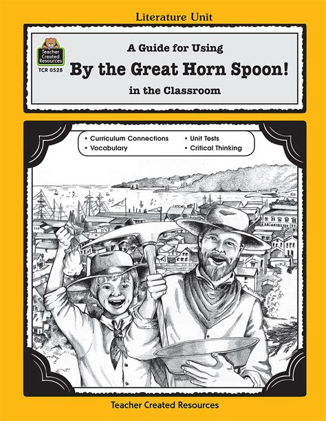 by the great horn spoon quiz questions a guide for using by the great horn spoon in the