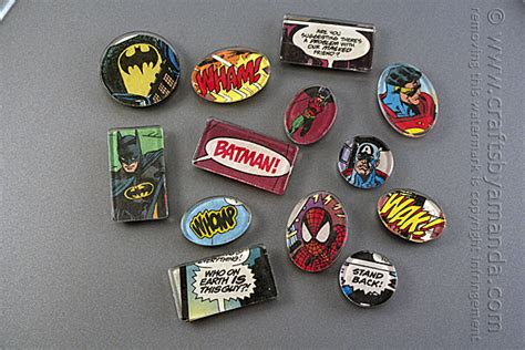 perfect gift for comic book fan comic book magnets super hero magnets for your fridge
