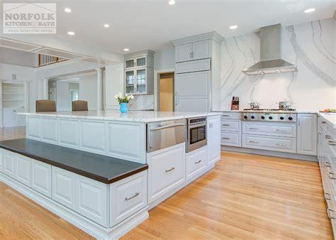 Norfolk Kitchen by Grey Showplace Kitchen With Height Backsplash