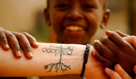 adoption tattoos creating a family creating a family