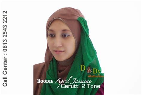 Dalaman Kerudung Dua Warna jilbab april dua warna dndy collection pusat