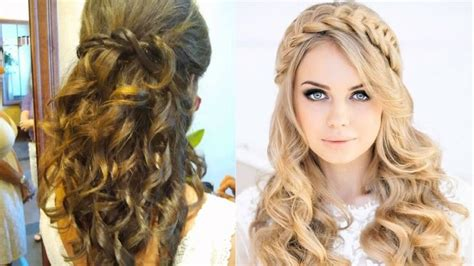Wedding Guest Hairstyles For Curly Hair by Best 25 Curly Wedding Hair Ideas On