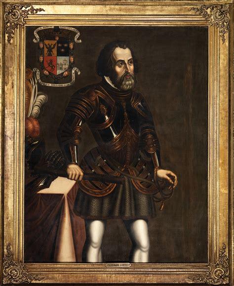 hernan cortes biography in spanish a portrait of spanish conquistador hernan corte s white
